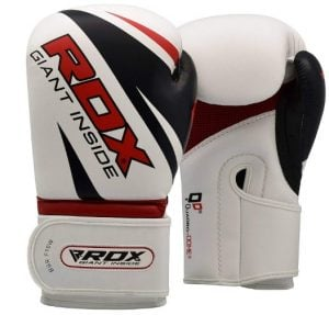 RDX Boxing Gloves Maya Hide Leather Punch Bag Mitts Sparring Punching Training Kickboxing Muay Thai Martial Arts under 50
